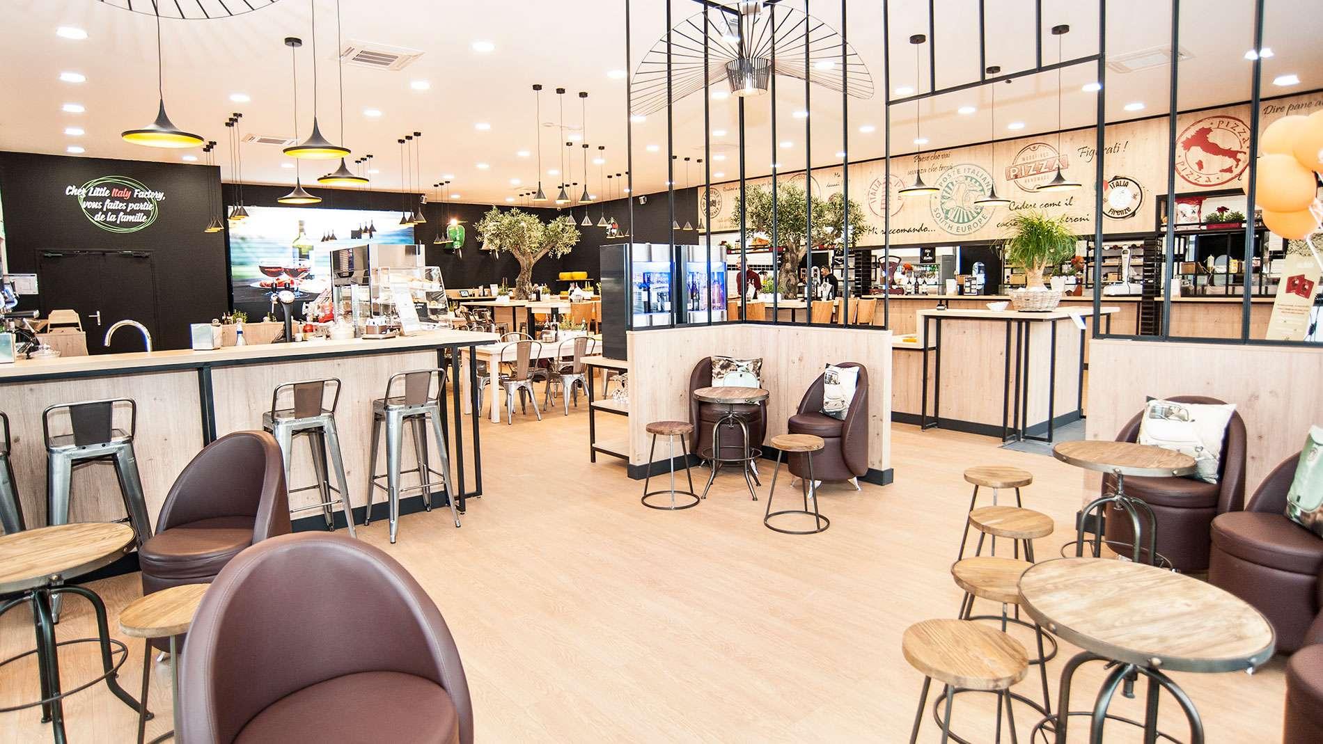 Verre Clair Saint Maximin restaurant little italy factory à saint-maximin